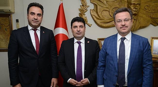 AK Parti İlçe Başkanından Vali Ünlü'ye Ziyaret