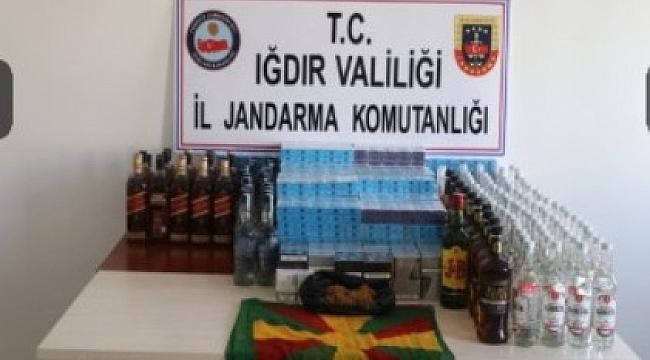 Jandarma'dan Kaçakçılık Operasyonu