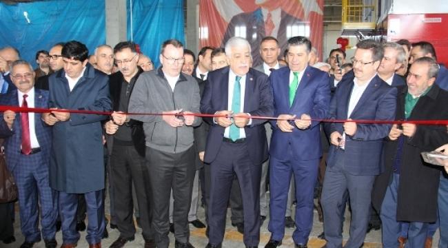 Gaziler Plastik Fabrikası Açıldı