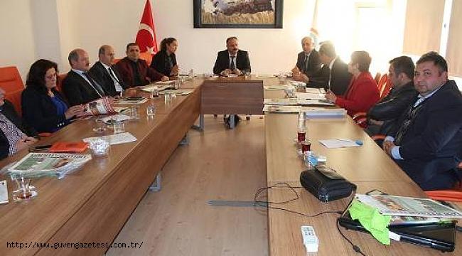 İl Tarım Müdürlüğünde Koordinasyon Toplantısı Yapıldı