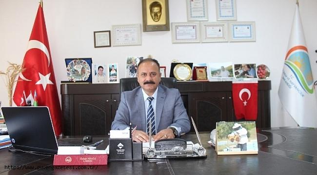 İl Tarım Müdürü Özkan Yolcu'nun Mevlid Kandili Mesajı