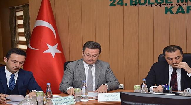 Aras Havzası Yönetim Kurulu Toplantısı Kars'ta Gerçekleştirildi