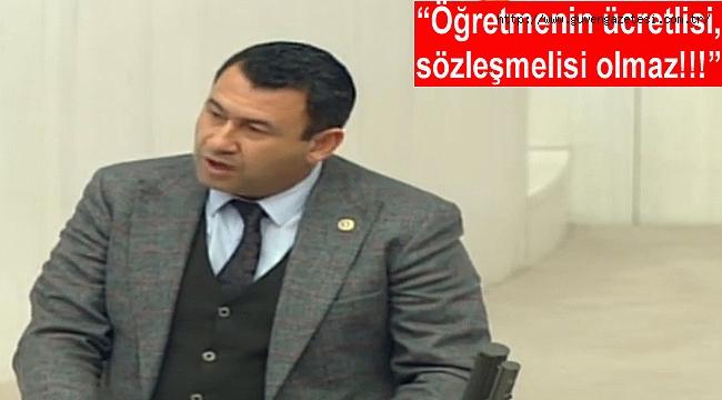 Milletvekili Karadağ Milli Eğitim Bütçe Görüşmelerine Damgasını Vurdu