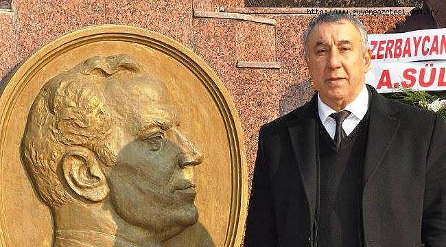 """Serdar Ünsal: """"Azerbaycan'ın Eski Cumhurbaşkanı Haydar Aliyevi Rahmetle Anıyoruz"""""""