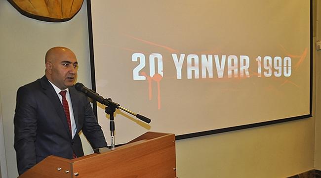 Azerbaycan Başkonsolosu Guliyev'den 20 Yanvar Mesajı