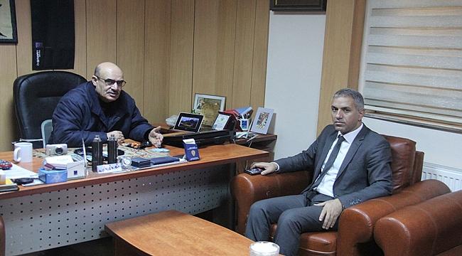 Gençlik ve Spor İl Müdürü Yiğit'ten Gazetemizi Ziyaret