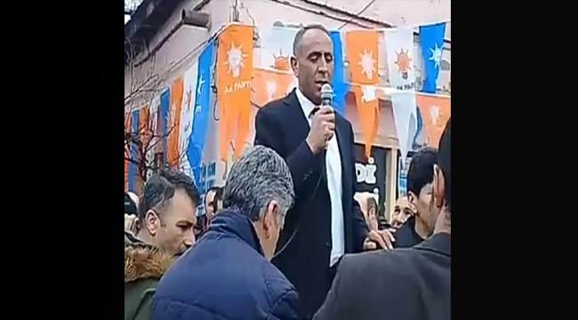 AK Parti Aralık Başkan Adayı Güzelkaya Seçim Çalışmalarına Gaz Verdi