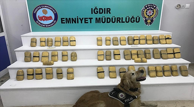 Iğdır'da Rekor Sayıda Uyuşturucu Ele Geçirildi