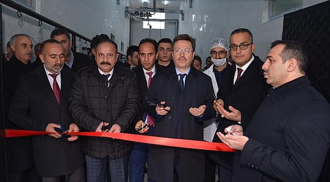 Tuzluca'da Hayvan Kesim Merkezi Açıldı