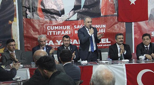 """AK Parti MKYK Üyesi Bulut: """"İsa Yaşar Tezel Bizim Adayımızdır"""""""