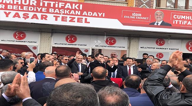 Çevre ve Şehircilik Bakanı Murat Kurum Müjdelerle Iğdır'da