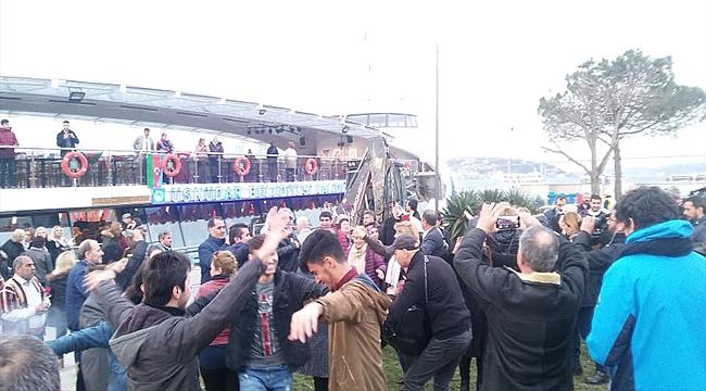İstanbul Boğazında Muhteşem Nevruz Kutlaması