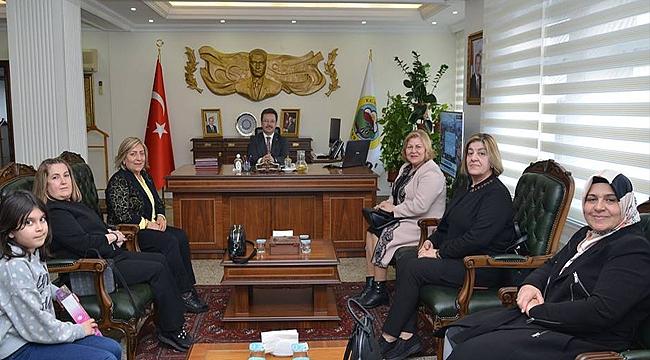 Türk Kadınlar Birliğinden Ziyaret