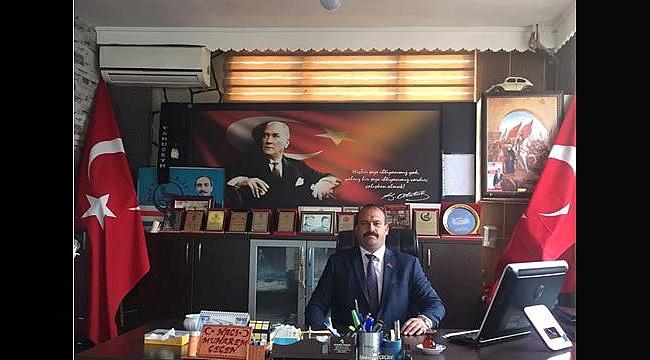 Başkan Çeçen'den Ulusal Egemenlik Bayramı Mesajı