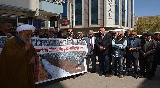 Iğdır'da Suudi Arabistan'daki İdamlara Tepki