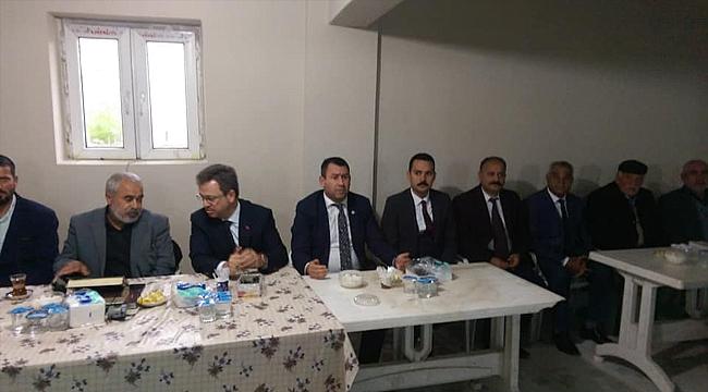 Vali Ünlü ve Milletvekili Karadağ'dan Taziye Ziyareti