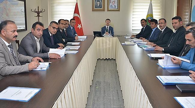 İl Tahsisat Komisyonu Toplantısı Yapıldı