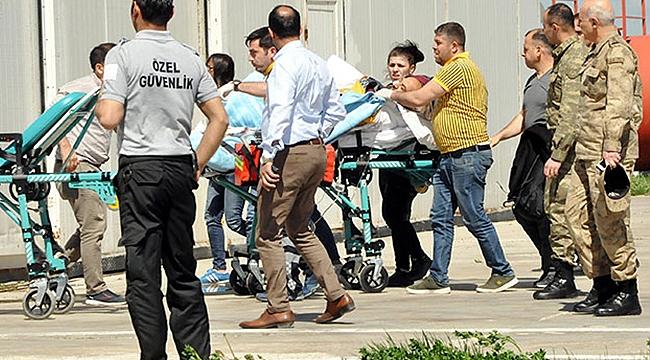 İmha Sırasında EYP Patladı: 1 Asker Yaralı