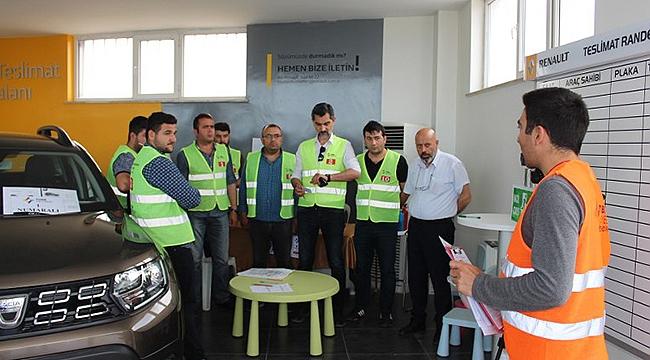 ITSO'da Motorlu Taşıt Alım-Satım Yeterlilik Belgesi Sınavı Yapıldı