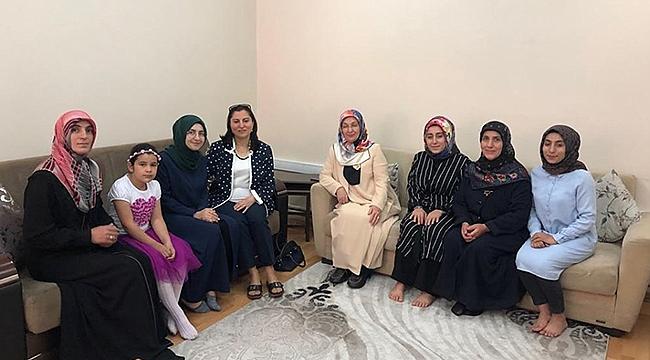 Sema Ünlü'den Aile ve Dini Rehberlik Bürosunu Ziyaret