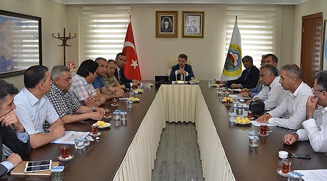 15 Temmuz Etkinlikleri Koordinasyon Toplantısı Yapıldı