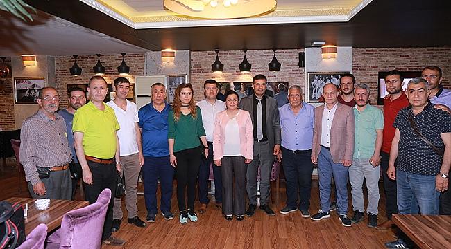 Başkan Akkuş'tan Gazetecilere İftar