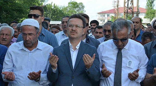 Milli Eğitim Müdür Yardımcısı Ahmet Gelal Son Yolculuğuna Uğurlandı