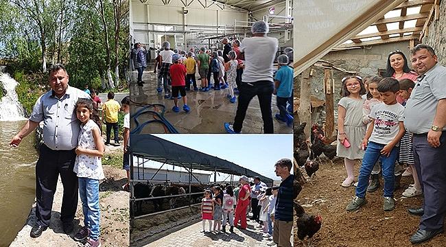 Tuzluca İlçe Tarım ve Orman Müdürlüğünce Öğrenci Gezisi Düzenlendi