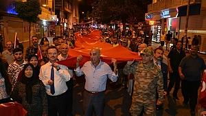 15 Temmuz Demokrasi ve Milli Birlik Günü Iğdır'da Coşkuyla Kutlandı