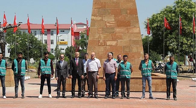 Denetimli Serbestlik Müdürlüğünden Şehitlik Anıtına Ziyaret