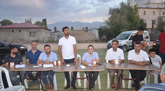 Karaağaç ve Alikamerli Mahallelerinde Toplantılar Yapıldı