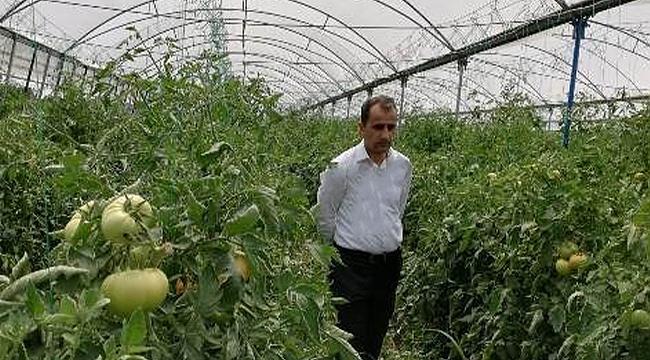 Kaymakam Kamil Güzel'den Genç Çiftçiye Ziyaret