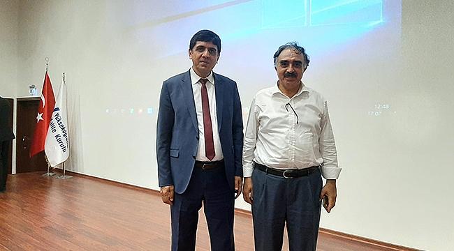 Rektör Alma 'Yükseköğretim Kurumlarında Kalite' Toplantısına Katıldı