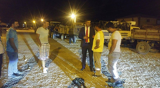 Belediye Başkanı Akkuş'tan Toptan Sebze Haline Ziyaret