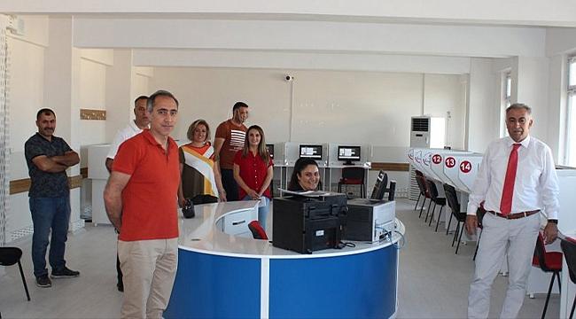 İl Milli Eğitim Müdürü Hakan Gönen Yeni Taşınan e-Sınav Merkezini Gezdi