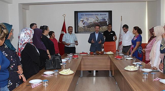 İl Tarım Müdürlüğünde Belge Dağıtım Töreni Düzenlendi
