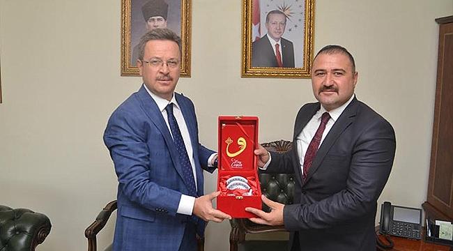 Melekli Belediye Başkanı Coşar'dan Vali Ünlü'ye Bayram Ziyareti