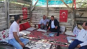 Milletvekili Karadağ'dan Şehit Ailesine Ziyaret