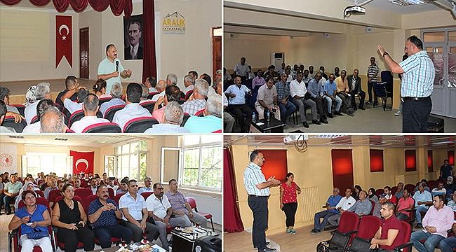 13. Etap Kırsal Kalkınma Yatırımları Tanıtım ve Bilgilendirme Toplantıları Gerçekleştirildi