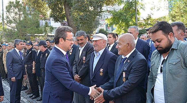 19 Eylül Gaziler Günü Anma Programı Düzenlendi