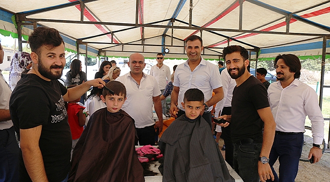 Iğdır Belediyesi Öğrencilerin Ücretsiz Saçlarını Kestirdi