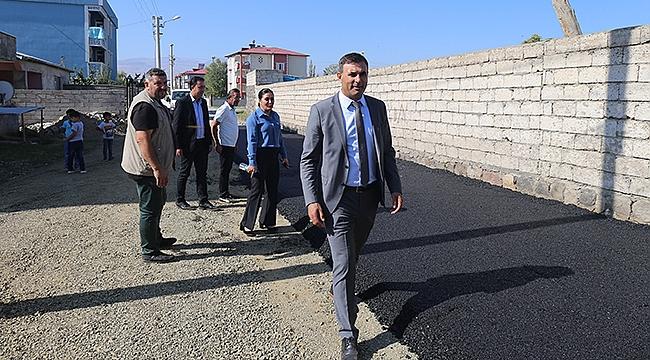Iğdır Belediyesi Yılın İlk Asfaltını Döktü
