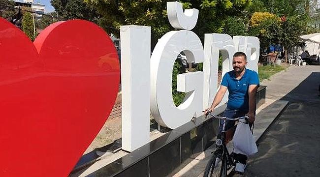 Iğdır'da Bisiklet Yoğunluğu Göze Çarpıyor