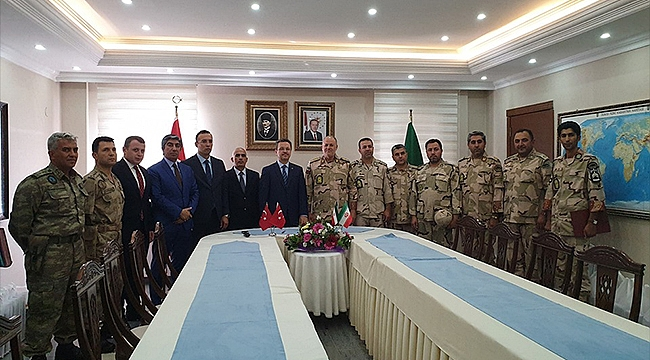 Iğdır'da Türkiye-İran Sınır Mutat Güvenliği Toplantısı Yapıldı