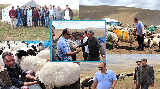İl Tarım Müdürü Yolcu'dan Yaylacılara Ziyaret