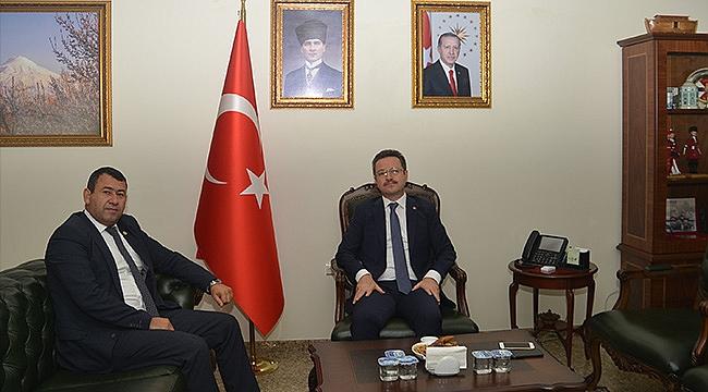 Milletvekili Karadağ'dan Vali Ünlü'ye Ziyaret