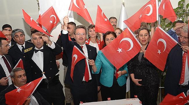 29 Ekim Cumhuriyet Bayramı Resepsiyonu Düzenlendi