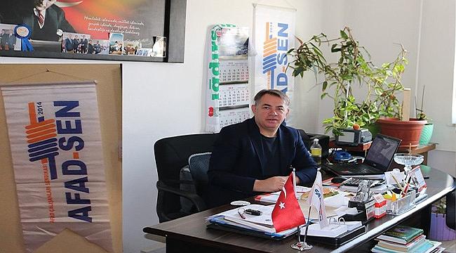 AFAD-SEN Genel Başkan Yardımcısı Öztürk'ten 29 Ekim Mesajı