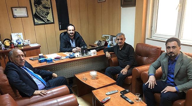 AK Parti Teşkilatından Gazetemize Ziyaret