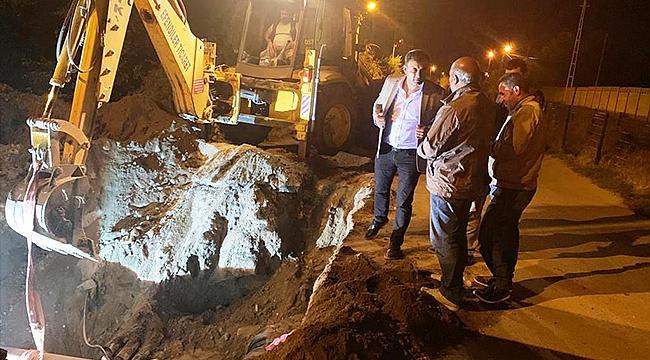 Iğdır Belediyesi Çalışmalarına Gece-Gündüz Devam Ediyor